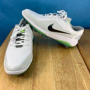 NEW Nike React Vapor 2 Golf Shoes White Green Glow